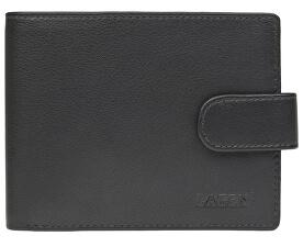 Pánska čierna kožená peňaženka Black C-22/L