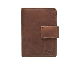 Pánská hnědá kožená peněženka Brown V-27/V