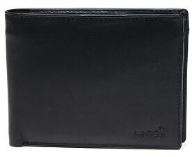 Pánska kožená peňaženka Black W-8053