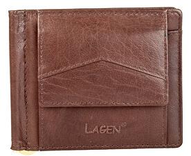 Lagen Pánská peněženka W-2018 Brown 2b9bfec84ac