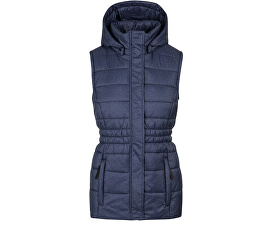 Dámská sportovní vesta Tanya Majol Blue modrá CLW1779-L43X
