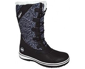 Dámské zimní boty Fierra Black/Bl De Blanc SBL1624-V11A