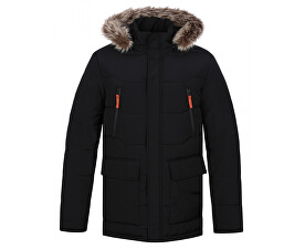 Pánská zimní bunda do města Tron Bl Graphite modrá CLM1738-I06I