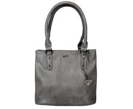 Elegantní kabelka Emily Dark Grey