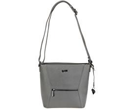 Elegantní kabelka Frankie Crossover Bag Grey