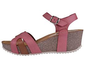Dámske sandále 5101F/B1-6 Fibras Chicle/Vaq.Roble