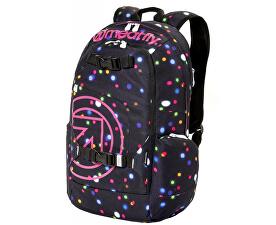 Meatfly Batoh Basejumper 4 Backpack B-Lights Neon 614d38aafb