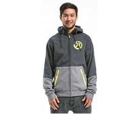 Mikina Twitch 2 Technical Hoodie D - Charcoal Heather/Grey