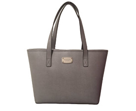 Elegantná kožená business kabelka Jet Set Saffiano Leather Tote Grey