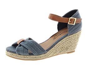 Dámske sandále 1248803-8 Blau