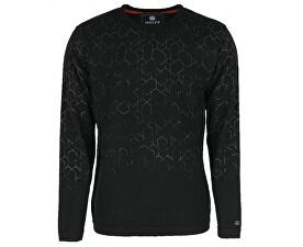 Pánský svetr s dlouhým rukávem Black 4323200-00