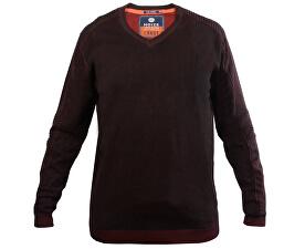Pánský svetr s dlouhým rukávem Red/Black 4323100-00