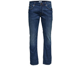 "Pánske džínsy Weave Dark Denim PK 0905 34"" Blue Denim"
