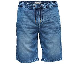 Pánské kraťasy Linus Jog Shorts Blue Pk 9062 Blue Denim