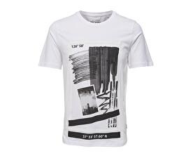 Pánské tričko Sean Ss Tee Bright White