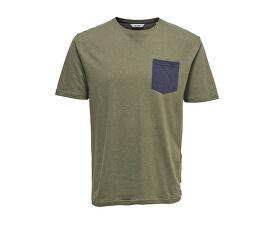 Pánske tričko Granger Pocket TEE Grape Leaf