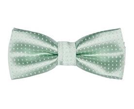 Pánský motýlek Theo Satin Bow Tie Grayed Jade
