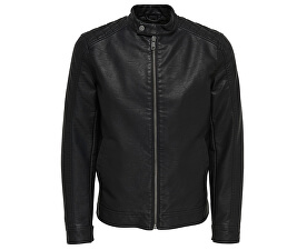 Pánska bunda Kris Jacket Pu Black