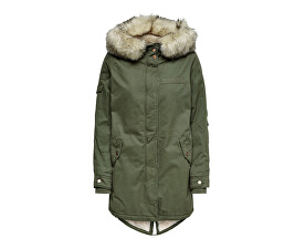 Femeie jacheta mai blana Canvas Parka Otw frunze de Grape