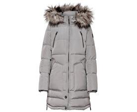 Dámská bunda New Rhoda Rds Down Coat Otw Silver