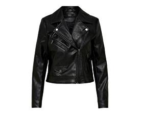 Jachetă pentru femei ONLENYA FAUX LEATHER BIKER CC OTW Black