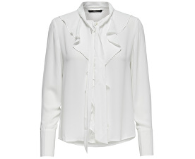 Dámská košile New Intu Ls Frill Shirt Wbn White