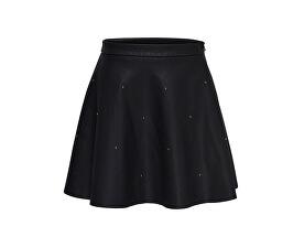 Fustă pentru femei Fia Stud Short Faux Leather Skirt Otw Black