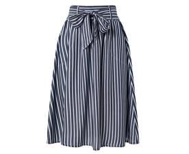 Dámska sukňa Manhattan Stripe Dnm Skirt Qyt White