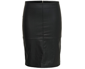 Dámská sukně Ticket Faux Leather Skirt Otw Noos Black
