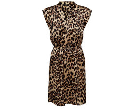 ONLY Dámské šaty Lulu Leo Ss Belt Dress Wvn Black 23ade3f0cd