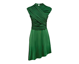 Dámske šaty True S/L Drappy Dress Jrs Verdant Green
