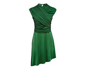 Dámské šaty True S/L Drappy Dress Jrs Verdant Green