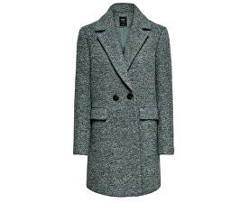Női kabátONLALLY BOUCLE WOOL COAT CC OTW Balsam Green