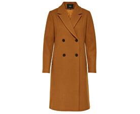 Dámský kabát ONLLOUISA WOOL COAT CC OTW Pumpkin Spice