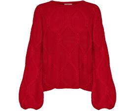 Dámský svetr Felina L/S Pullover KNT Goji Berry
