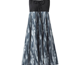 cbf771e18e4 Prana Dámské šaty Solana Dress Charcoal Gemstone