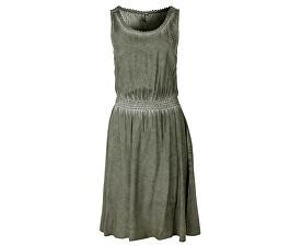 Dámské krátké zelené šaty