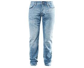 Pánské kalhoty modré délka 34
