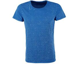 Pánské modré tričko s 1/2 rukávem