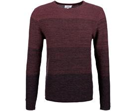 Pánský vínový svetr