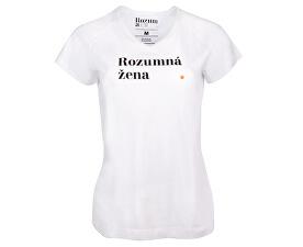 Dámske tričko Rozumná žena