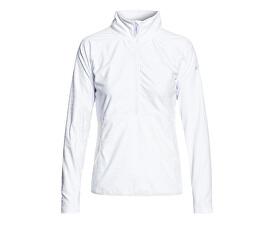 Dámská mikina Cascade Bright White Indie Stripes Emboss ERJFT03855-WBB5