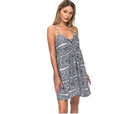 f53457727aa Roxy Dámské šaty Good Surf Only Dress Marshmallow Tribal Vibes Stripe  ERJX603105-WBT4