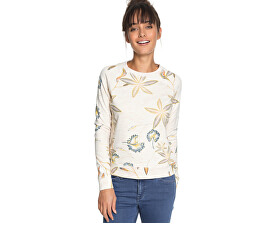 Ladies Ladies Sweatshirt Night este o tânără de marshmallow Bird Flow er ERJFT03812-WBT7