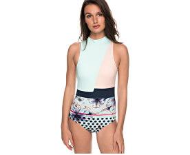 Jednodílné plavky Pop Surf Fashion One Piece Blue Light Rain Daze Small ERJX103115-BEK7