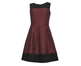 Dámské krátké šaty Bordeaux 17743/20