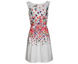 Dámské krátké šaty White 18347/01