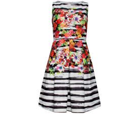 Dámske krátke šaty White 18435/01