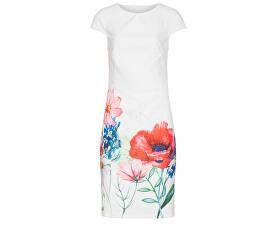 Dámské šaty 19365 White/Red
