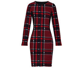 Dámské šaty 19500 Red/Black